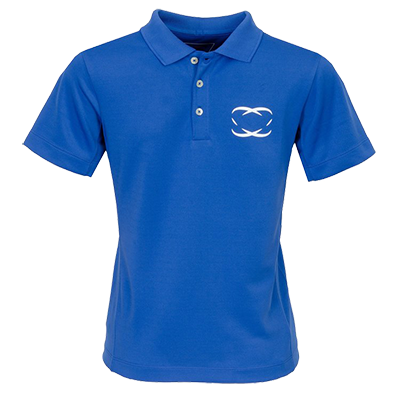 Blue Golf Boys' Polo Shirt