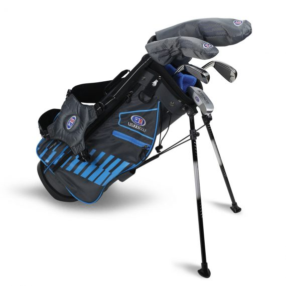 "US Kids Ultralight Golf Clubs 4 Club Carry Bag Set 42"" - 45"""